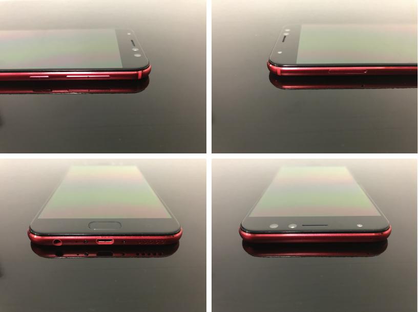 ZenFone 4 Selfie Proの4分割